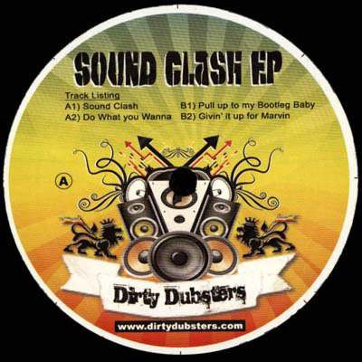 Dirty Dubsters - Sound Clash EP