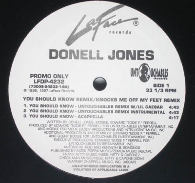 Donell Jones - You Should Know Remix / Knocks Me Off My Feet Remix