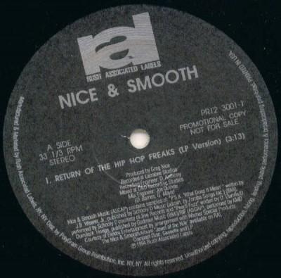 Nice & Smooth - Return Of The Hip Hop Freaks