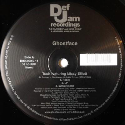 Ghostface Killah - Tush / Holla