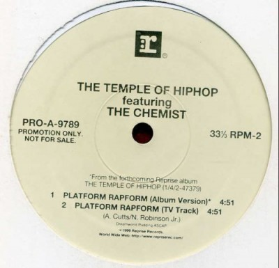 The Temple Of HipHop - Platform Rapform