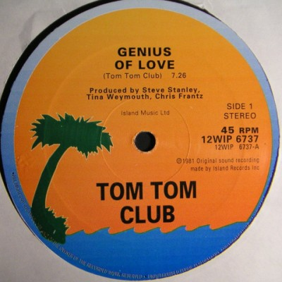 Tom Tom Club / Mr. Yellow - Genius Of Love / Yella