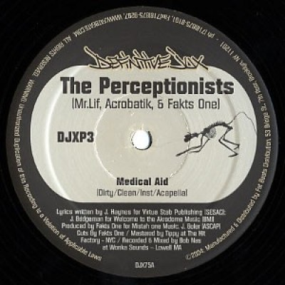 The Perceptionists - Medical Aid