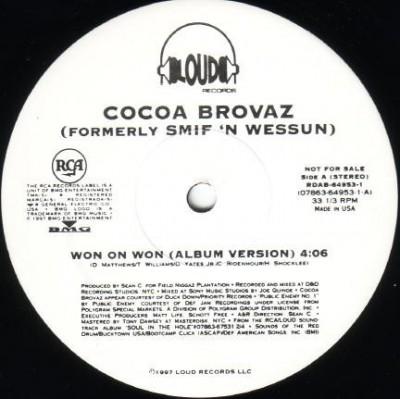 Cocoa Brovaz - Won On Won