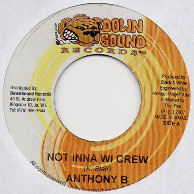 Anthony B - Not Inna Wi Crew