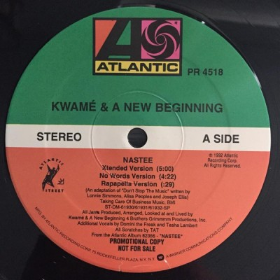 Kwamé - Nastee