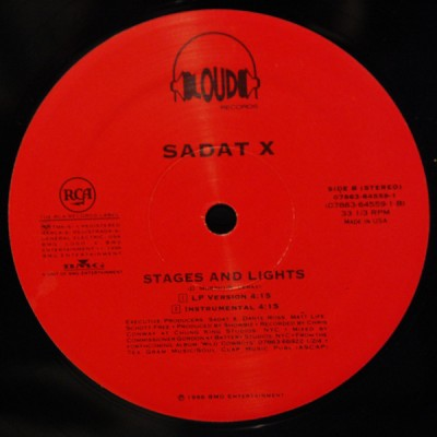 Sadat X - Hang 'Em High / Stages & Lights