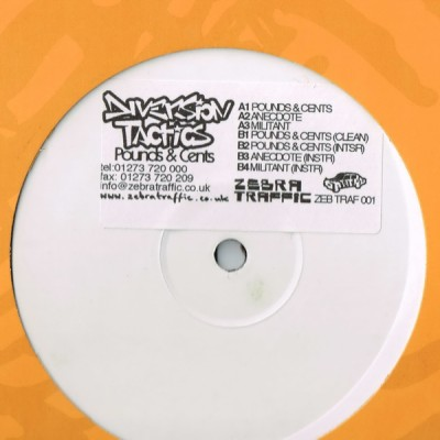 Diversion Tactics - Dollars And Pence EP