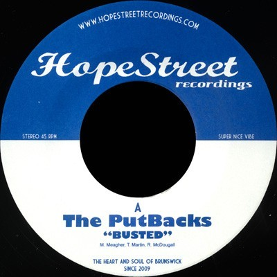 The PutBacks - Busted / Set Me Free