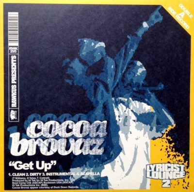 "Cocoa Brovaz / Royce Da 5'9"" - Get Up / Let's Grow"