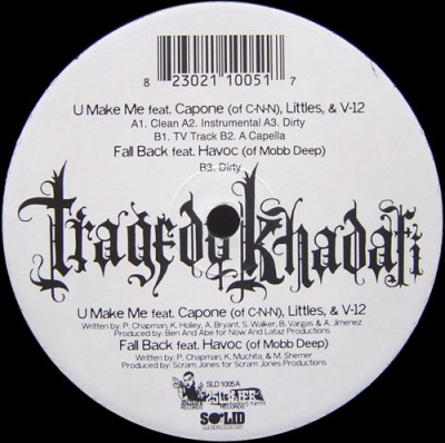 Tragedy Khadafi - U Make Me / Fall Back