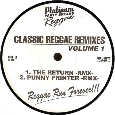 Various - Classic Reggae Remixes Vol 1