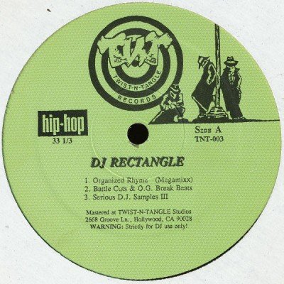 DJ Rectangle - Organized Rhyme (Megamixx)
