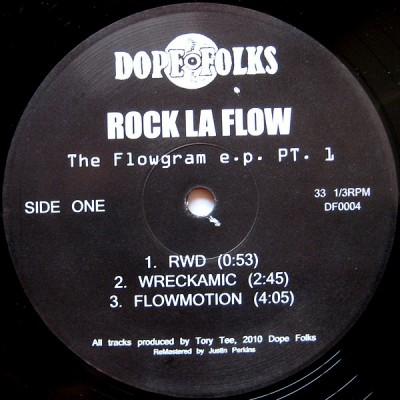Mister Rock La Flow - The Flowgram E.P. Pt. 1