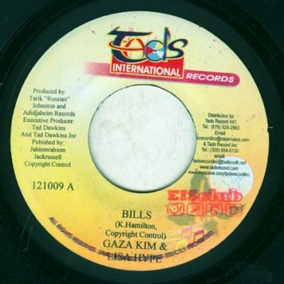 Gaza Kim & Lisa Hype / Tarrus Riley & Aidonia - Bills / Di Tress