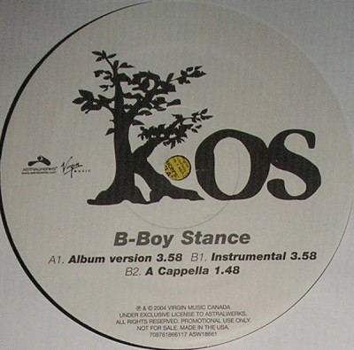 K-OS - B-Boy Stance