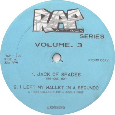 Various - Rap Attack Volume. 3