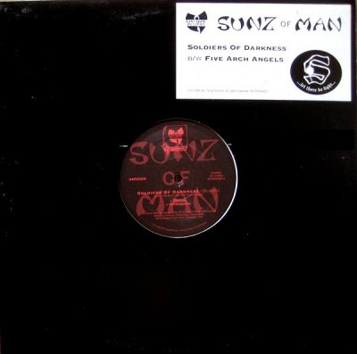 Sunz Of Man - Soldiers Of Darkness / Five Arch Angels