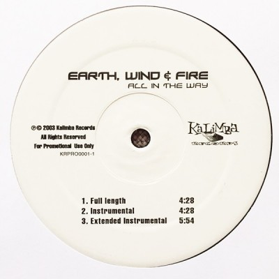 Earth, Wind & Fire - All In The Way