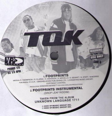 T.O.K. - Footprints / Hey Ladies