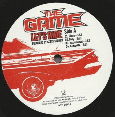 The Game - Let's Ride