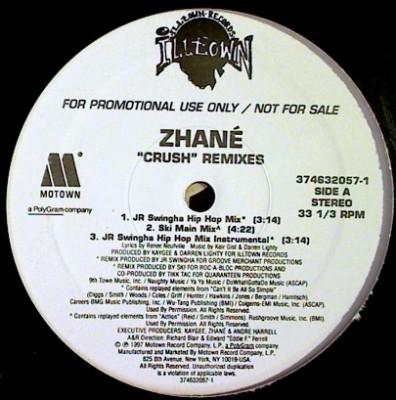 Zhané - Crush Remixes