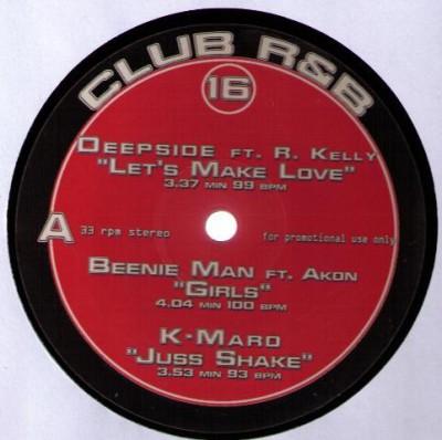 Various - Club R&B 16