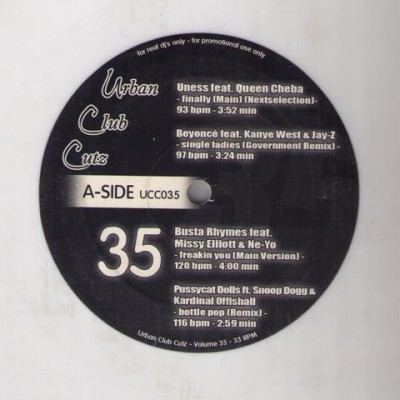 Various - Urban Club Cutz 35
