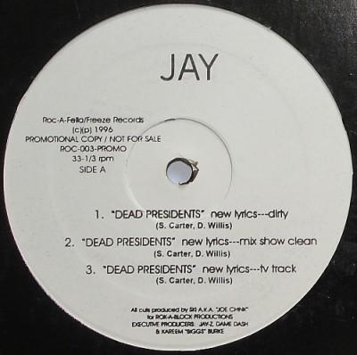 Jay-Z - Dead Presidents / Ain't No Nigg@