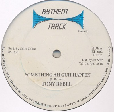 Tony Rebel - Something Ah Guh Happen