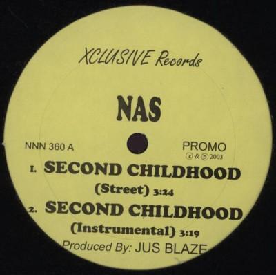 Nas / Novel - Second Childhood / Keep It Real