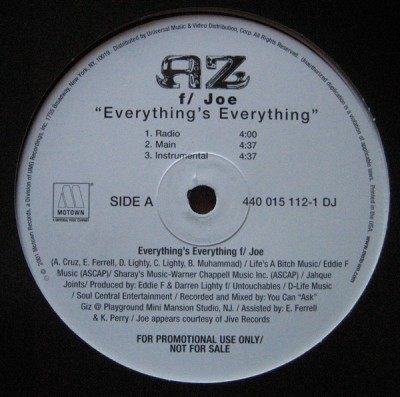 AZ - Everything's Everything