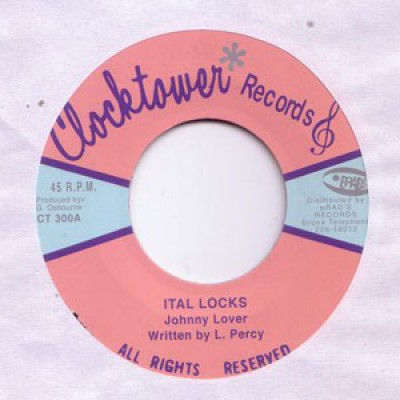 Johnny Lover - Ital Locks / Vital Drum