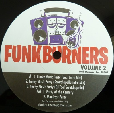 Funk Burners - Funk Burners Volume 2