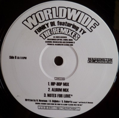 Funky DL - Worldwide (The Remixes)