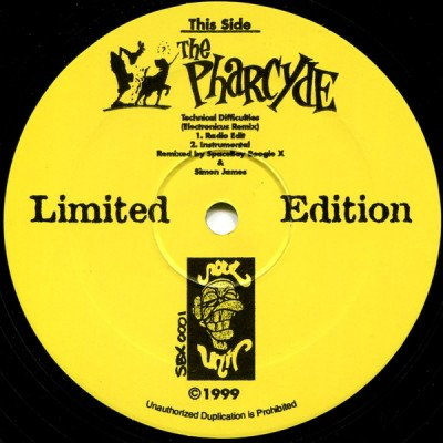 The Pharcyde - Technical Difficulties / Underground Sound