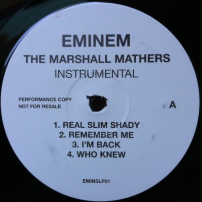 Eminem - The Marshall Mathers (Instrumental)