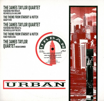 The James Taylor Quartet - The Theme From Starsky & Hutch / Indian Summer