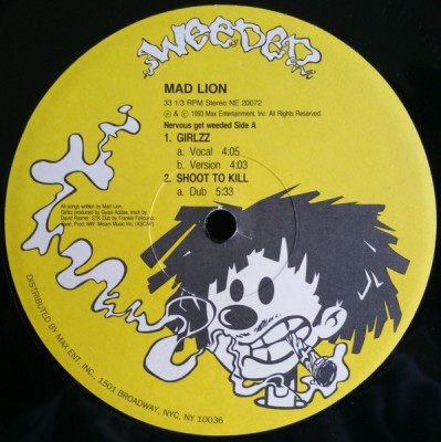 Mad Lion - Girlzz / Shoot To Kill