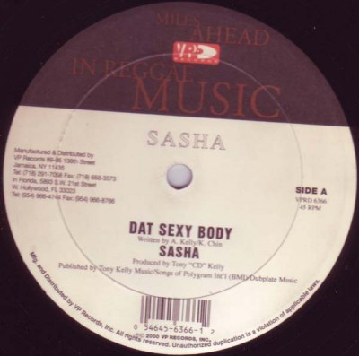 Sasha - Dat Sexy Body / No Ma Ha Me