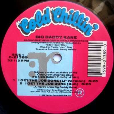 Big Daddy Kane - I Get The Job Done