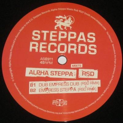 Alpha Steppa Meets RSD -  Dub Empress / Dub Empress (RSD Remix)