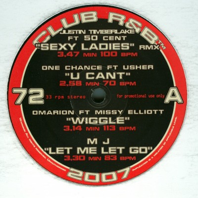 Various - Club R&B 72