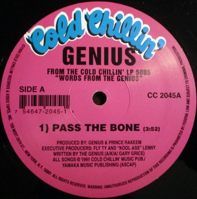 The Genius - Pass The Bone