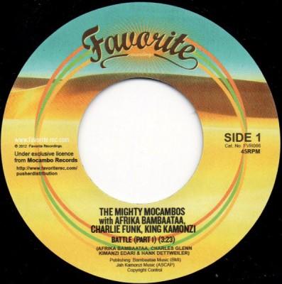 The Mighty Mocambos With Afrika Bambaataa, Charlie Funk, King Kamonzi - Battle