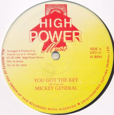 Mikey General - You Got The Key