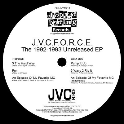 J.V.C. F.O.R.C.E. - The 1992-1993 Unreleased EP