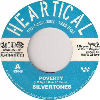 The Silvertones - Poverty / Freedom Fighters