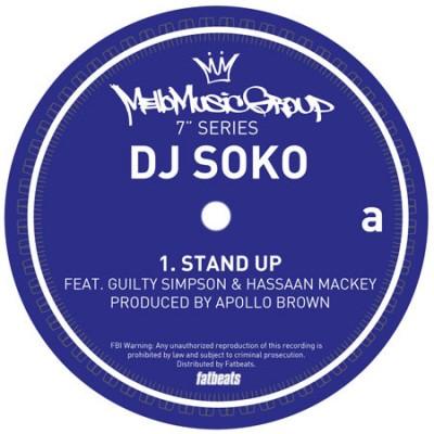 DJ Soko - Stand Up / Biters