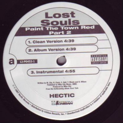 Lost Souls - Paint The Town Red (Part 2) / Soul Talk
